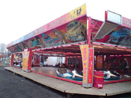 State of the art modern dodgem ride for hire
